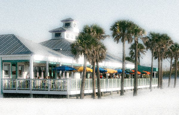 Palm Pavilion Cover Image Featured in the Clearwater Regional Chamber of Commerce Visitor Guide