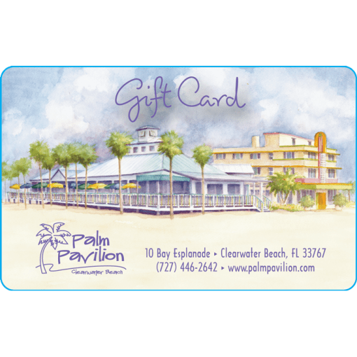 Palm Pavilion Gift Card Artwork