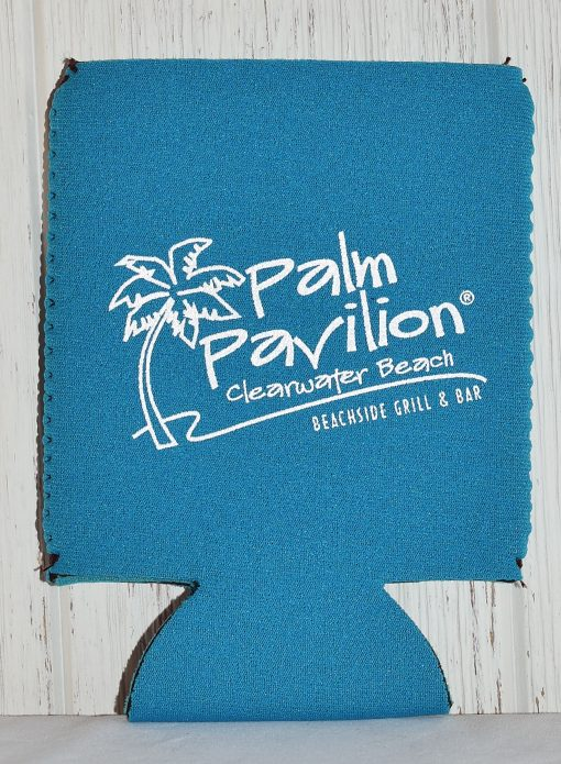 Can Coolie Palm Logo Front Lt Blue