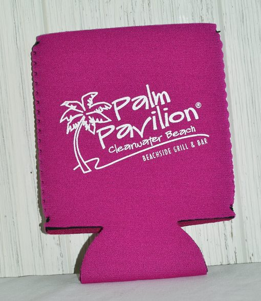 Can Coolie Palm Logo Front Pink