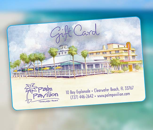 Palm Pavilion Gift Card