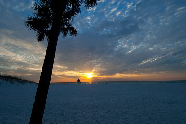Awesome Clearwater Beach Sunset at the Palm Pavilion®