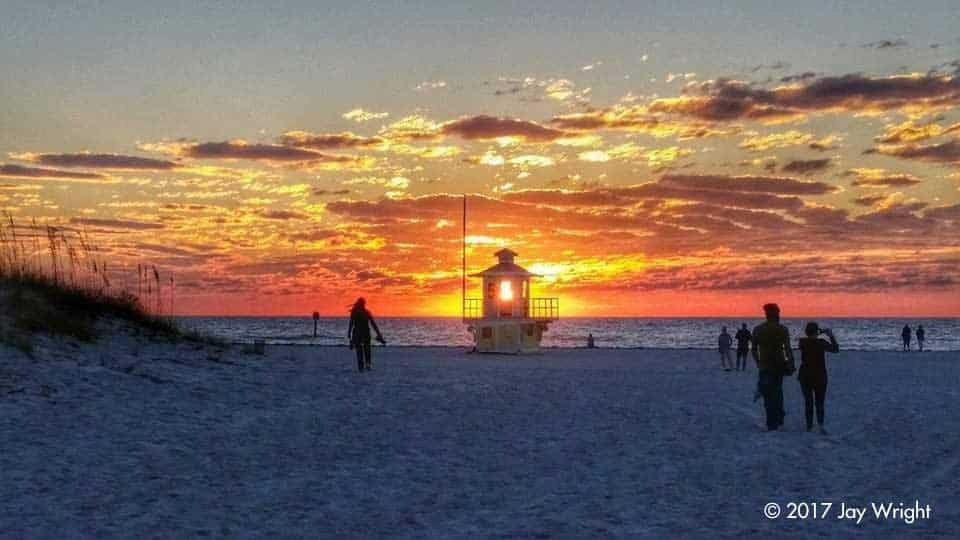 Our lifeguard stands are Clearwater Beach's version of a lighthouse