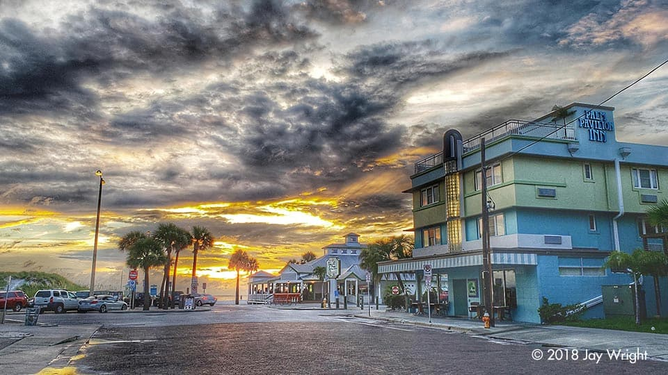 So happy I could capture the Palm Pavilion Inn in this photo - named Best of St. Pete/Clearwater - Best Boutique Hotel