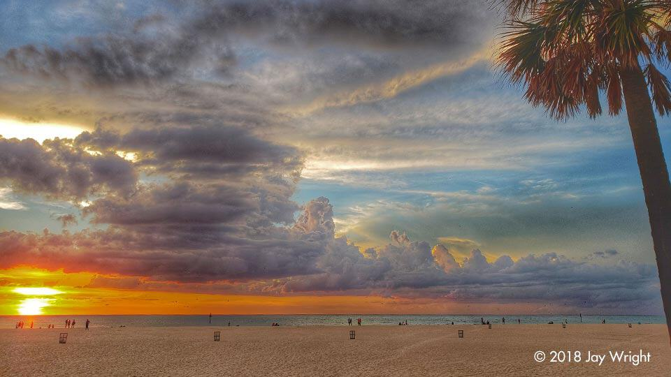 ... not sure what's more fun ... the diversity of colors each sunset or the different cloud formations