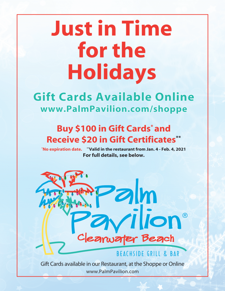 Palm Pavilion Gift Card Bonus Offer 2020